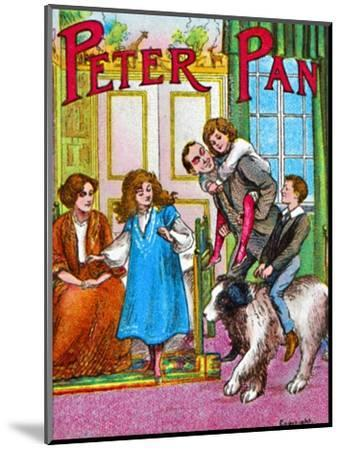 'Peter Pan - The Darlings at home', c1905-Unknown-Mounted Giclee Print