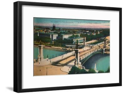 The Pont Alexandre III, Paris, c1920-Unknown-Framed Giclee Print