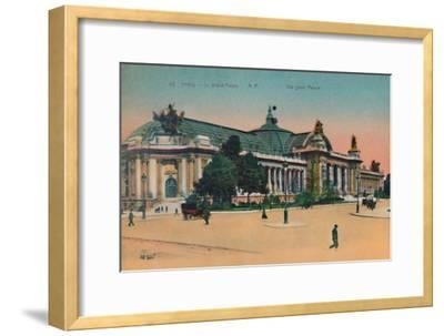 The Grand Palais, Paris, c1920-Unknown-Framed Giclee Print