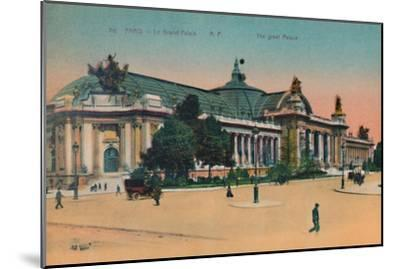 The Grand Palais, Paris, c1920-Unknown-Mounted Giclee Print