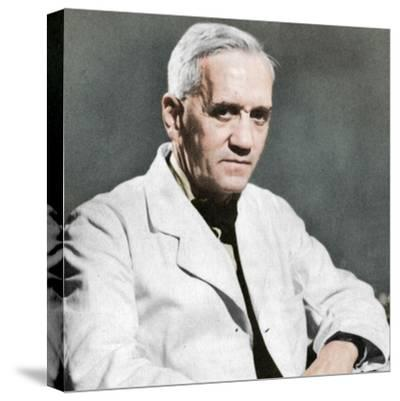 Alexander Fleming, Scottish bacteriologist, c1930s-Unknown-Stretched Canvas Print