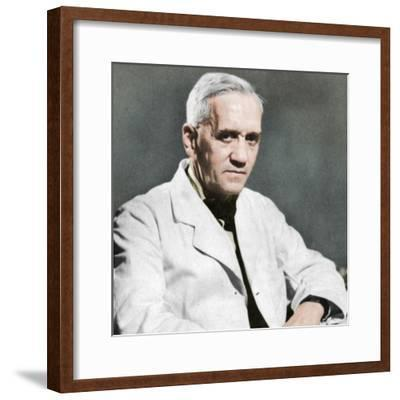 Alexander Fleming, Scottish bacteriologist, c1930s-Unknown-Framed Photographic Print