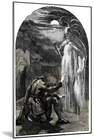 Scene from Shakespeare's Hamlet, 19th century-Unknown-Mounted Giclee Print