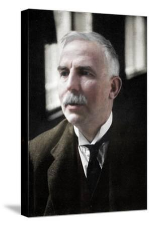 Ernest Rutherford (1871-1937), Nobel prize-winning atomic physicist, c1908-Unknown-Stretched Canvas Print