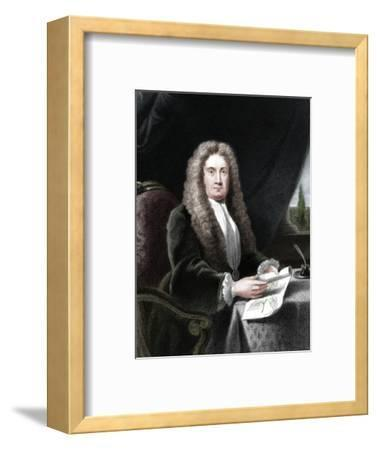 Hans Sloane, English physician and naturalist-Unknown-Framed Giclee Print
