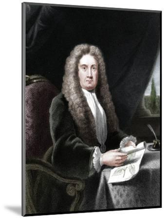 Hans Sloane, English physician and naturalist-Unknown-Mounted Giclee Print