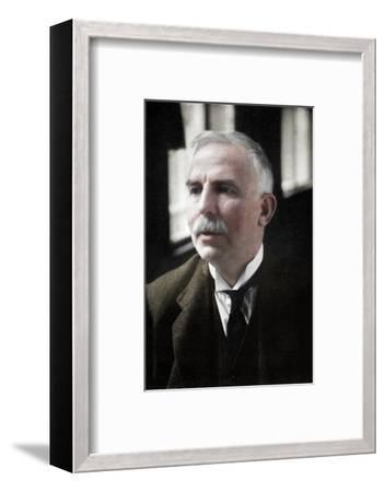 Ernest Rutherford (1871-1937), Nobel prize-winning atomic physicist, c1908-Unknown-Framed Photographic Print