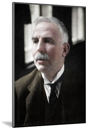 Ernest Rutherford (1871-1937), Nobel prize-winning atomic physicist, c1908-Unknown-Mounted Photographic Print