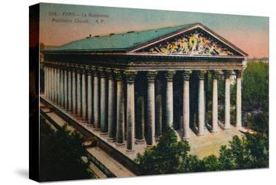 L'église de la Madeleine, Paris, c1920-Unknown-Stretched Canvas Print