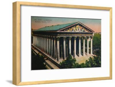 L'église de la Madeleine, Paris, c1920-Unknown-Framed Giclee Print