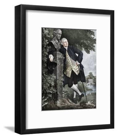 David Garrick (1717-1779), English actor, playwright, theatre manager and producer, 1905-Unknown-Framed Giclee Print