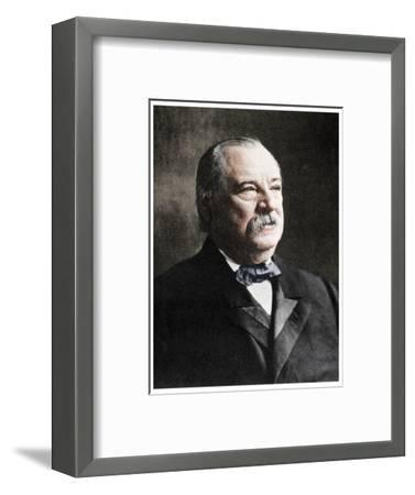 Grover Cleveland, 22nd and 24th President of the United States, 19th century (1955)-Unknown-Framed Photographic Print