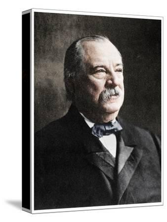 Grover Cleveland, 22nd and 24th President of the United States, 19th century (1955)-Unknown-Stretched Canvas Print