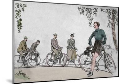 'Cycling 1839-1939 front cover', 1939-Unknown-Mounted Giclee Print