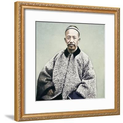 A Chinese official, 1902-Unknown-Framed Photographic Print