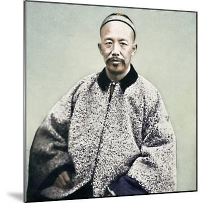 A Chinese official, 1902-Unknown-Mounted Photographic Print