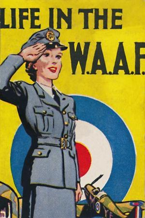 'Life in the W.A.A.F.', 1940-Unknown-Framed Giclee Print
