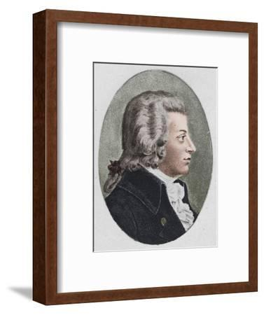 'Mozart.', 1895-Unknown-Framed Photographic Print