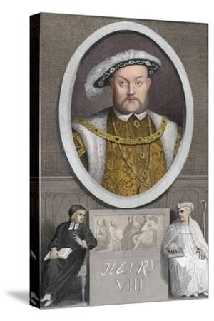'Henry VIII', 1788-Unknown-Stretched Canvas Print