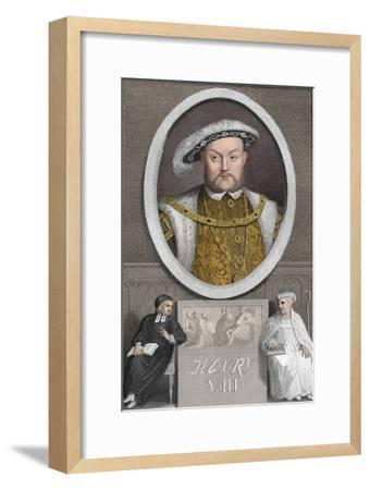 'Henry VIII', 1788-Unknown-Framed Giclee Print