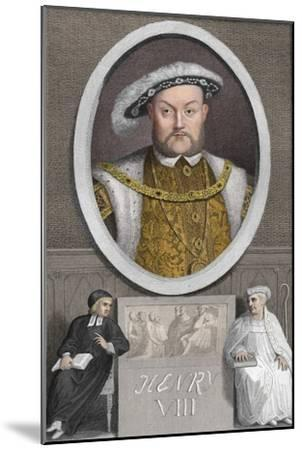 'Henry VIII', 1788-Unknown-Mounted Giclee Print
