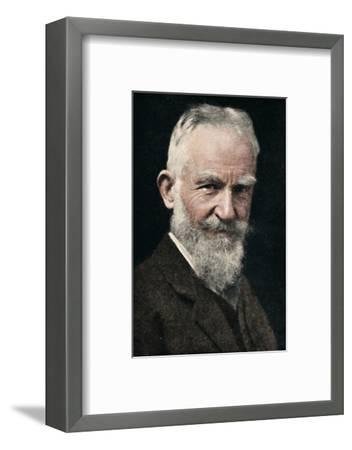'George Bernard Shaw', c1925-Unknown-Framed Photographic Print