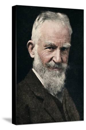 'George Bernard Shaw', c1925-Unknown-Stretched Canvas Print