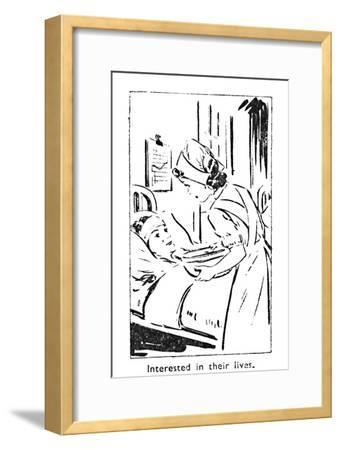 'Interested in their lives', 1940-Unknown-Framed Giclee Print