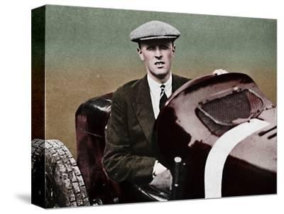 'Sir Henry Segrave', 1937-Unknown-Stretched Canvas Print