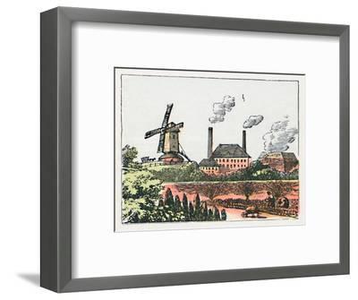 'Brentford', c1910-Unknown-Framed Giclee Print