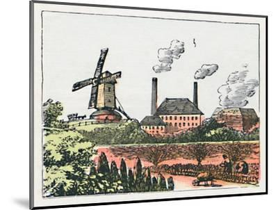 'Brentford', c1910-Unknown-Mounted Giclee Print