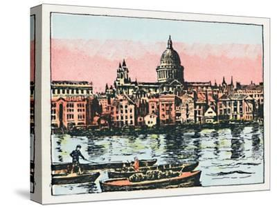 'London', c1910-Unknown-Stretched Canvas Print