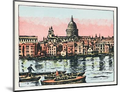 'London', c1910-Unknown-Mounted Giclee Print