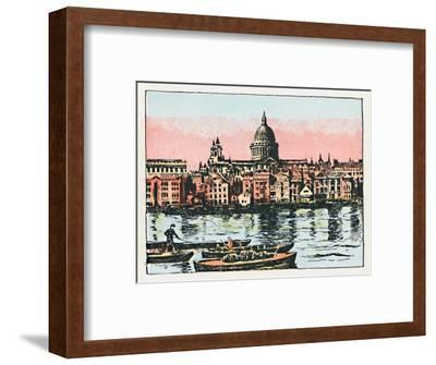 'London', c1910-Unknown-Framed Giclee Print