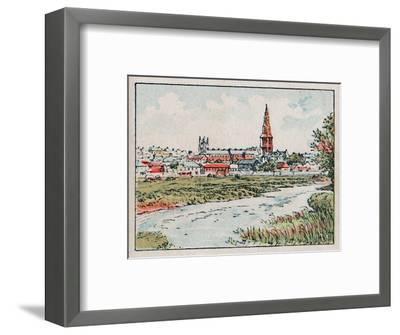 'Stamford', c1910-Unknown-Framed Giclee Print