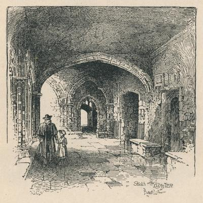 'In the Cloister', 1895-Unknown-Framed Giclee Print