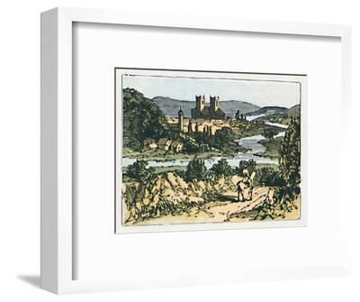 'Exeter', c1910-Unknown-Framed Giclee Print