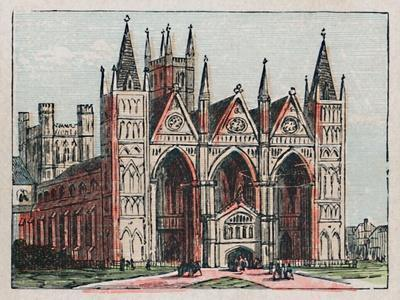 'Peterborough', c1910-Unknown-Framed Giclee Print