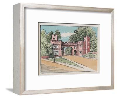 'Watford', c1910-Unknown-Framed Giclee Print