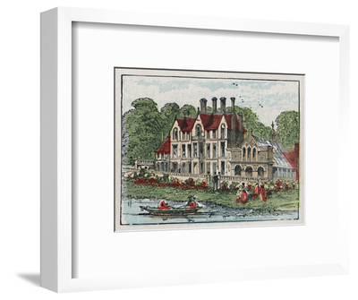 'Sandringham', c1910-Unknown-Framed Giclee Print