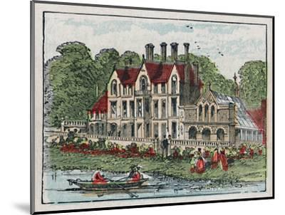 'Sandringham', c1910-Unknown-Mounted Giclee Print