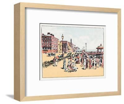 'Brighton', c1910-Unknown-Framed Giclee Print