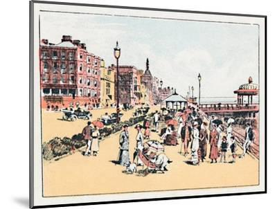 'Brighton', c1910-Unknown-Mounted Giclee Print