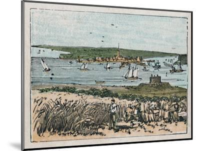 'Harwich', c1910-Unknown-Mounted Giclee Print