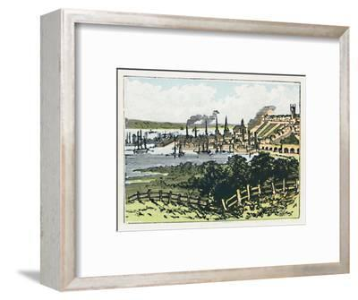 'Southampton', c1910-Unknown-Framed Giclee Print