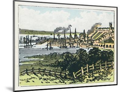 'Southampton', c1910-Unknown-Mounted Giclee Print