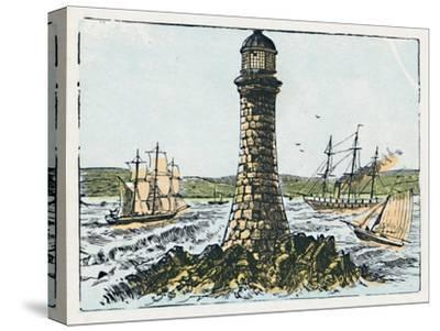 'Plymouth', c1910-Unknown-Stretched Canvas Print