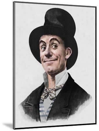 'Dan Leno', 1942-Unknown-Mounted Giclee Print