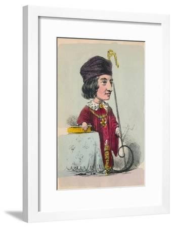 'Henry VI', 1856-Alfred Crowquill-Framed Giclee Print