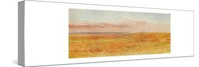 'Canadian Prairie', 1924-Unknown-Stretched Canvas Print